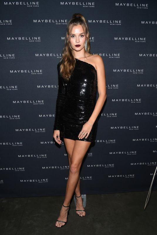JOSEPHINE SKRIVER at Maybelline x New York Fashion Week Party 09/08/2018