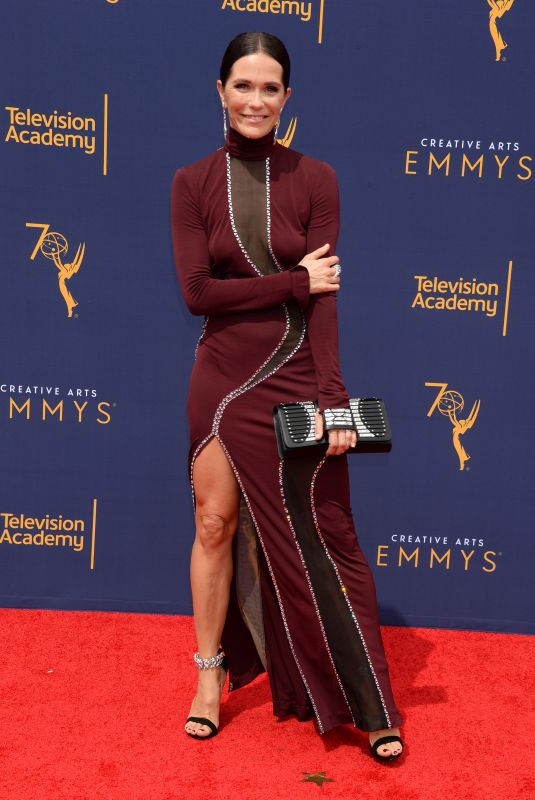 KATIE ASELTON at Creative Arts Emmy Awards in Los Angeles 09/08/2018