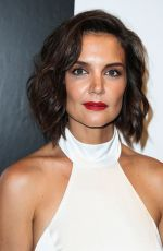 KATIE HOLMES at Alice + Olivia by Stacey Bendet Show at New York Fashion Week 09/11/2018