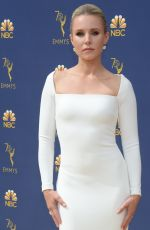 KRISTEN BELL at Emmy Awards 2018 in Los Angeles 09/17/2018