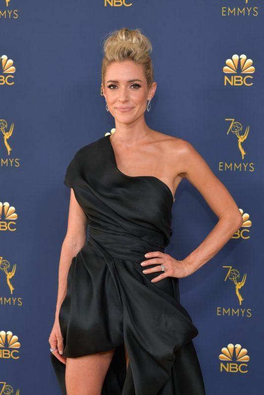 KRISTIN CAVALLARI at Emmy Awards 2018 in Los Angeles 09/17/2018