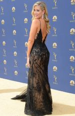 KRISTINE LEAHY at Emmy Awards 2018 in Los Angeles 09/17/2018