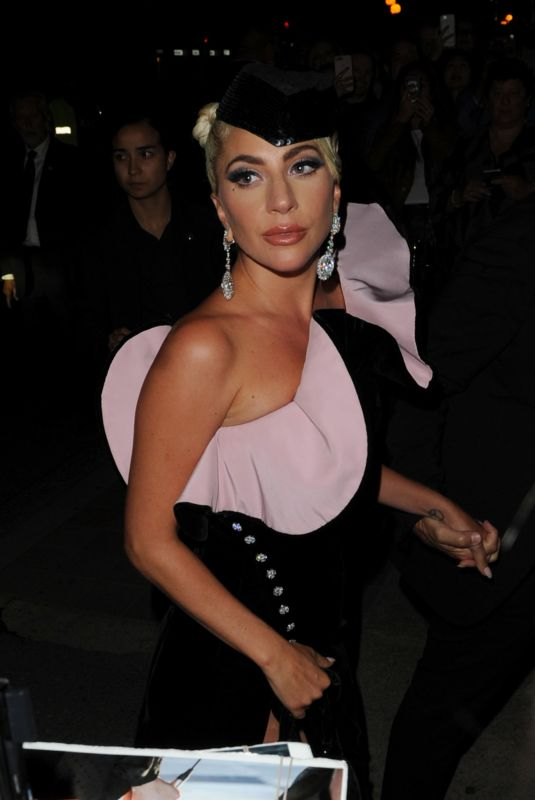 LADY GAGA at A Star is Born Party at Toronto International Film Festival 09/09/2018
