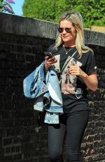 LAURA WHITMORE Out and About in London 09/13/2018
