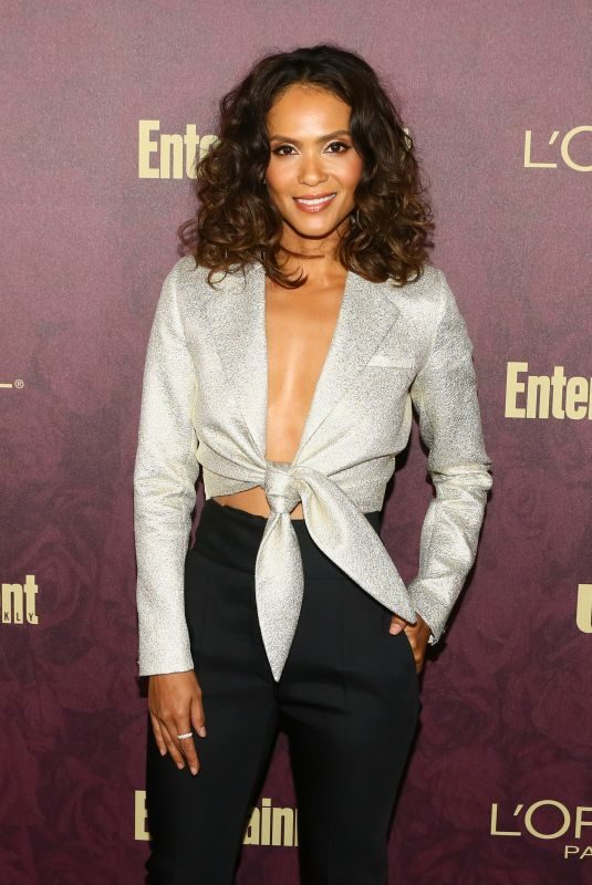 LESLEY-ANN BRANDT at EW and L'Oreal Paris Pre-emmy Party in Hollywood 09/15/2018