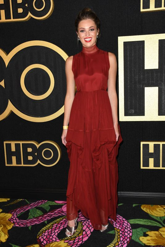 LILI SIMMONS at HBO Emmy Party in Los Angeles 09/17/2018