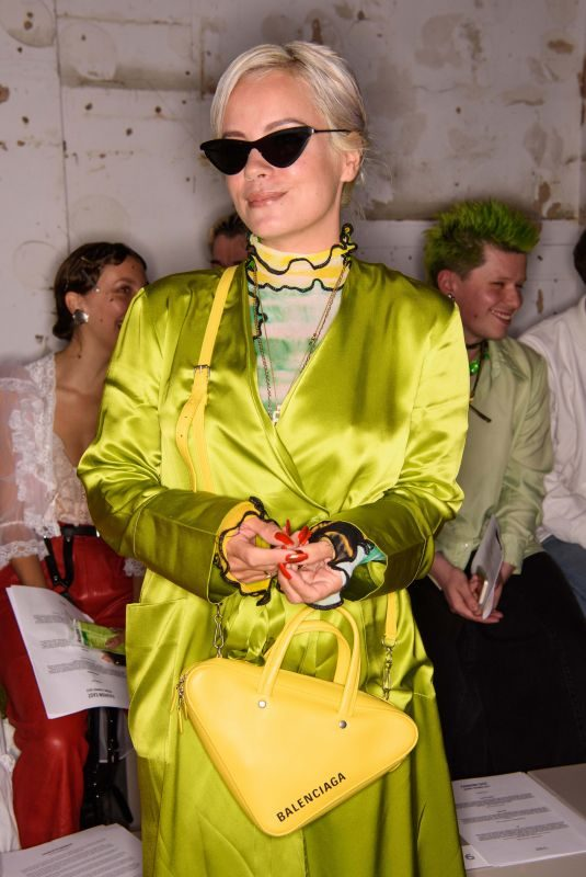 LILY ALLEN at Fashion East Fashion Show in London 09/16/2018