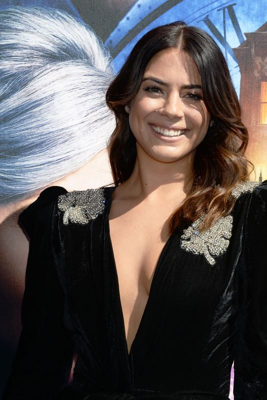 LORENZA IZZO at The House with a Clock in Its Walls Premiere in Hollywood 09/16/2018