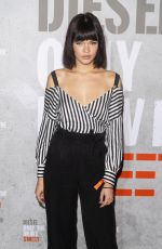 LULA-ALLIE VILLAIN at Diesel Fragrance Only the Brave Street Launch Party in Paris 09/06/2018