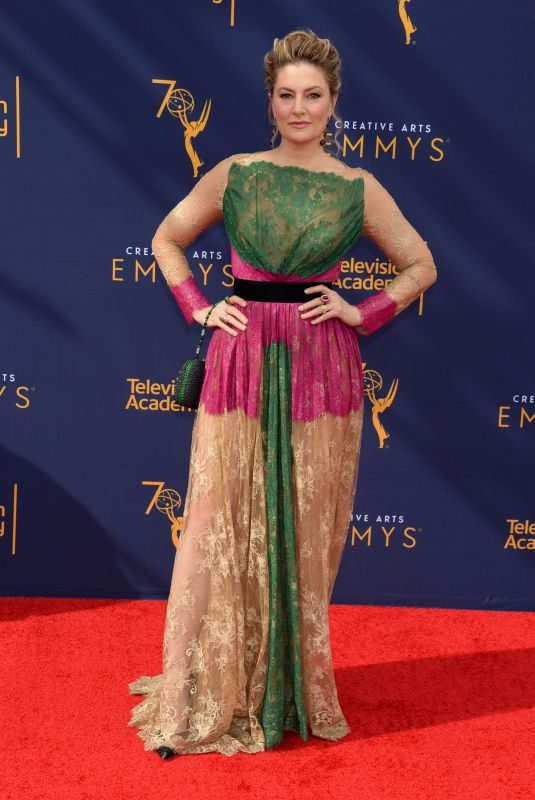 MADCHEN AMICK at Creative Arts Emmy Awards in Los Angeles 09/08/2018