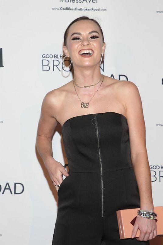 MADELINE CARROLL at God Bless Broken Road Screening in Los Angeles 09/05/2018