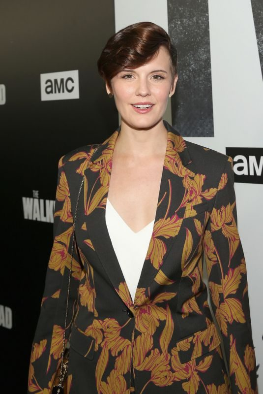 MAGGIE GRACE at The Walking Dead Premiere Party in Los Angeles 09/27/2018