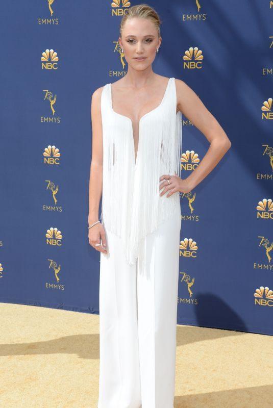 MAIKA MONROE at Emmy Awards 2018 in Los Angeles 09/17/2018
