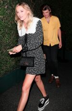 MAIKA MONROE Night Out in Los Angeles 09/13/2018