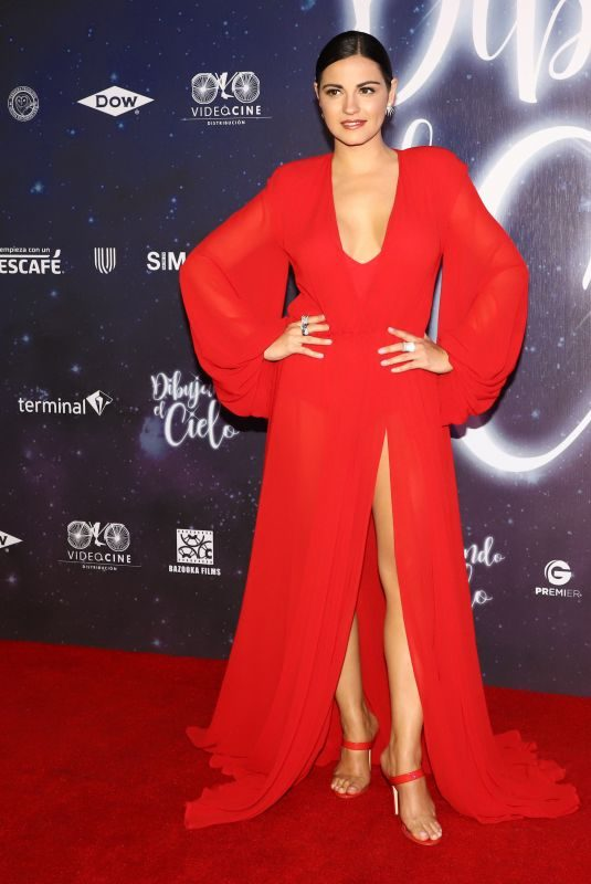 MAITE PERRONI at Dibujando El Cielo Premiere in Mexico City 08/29/2018