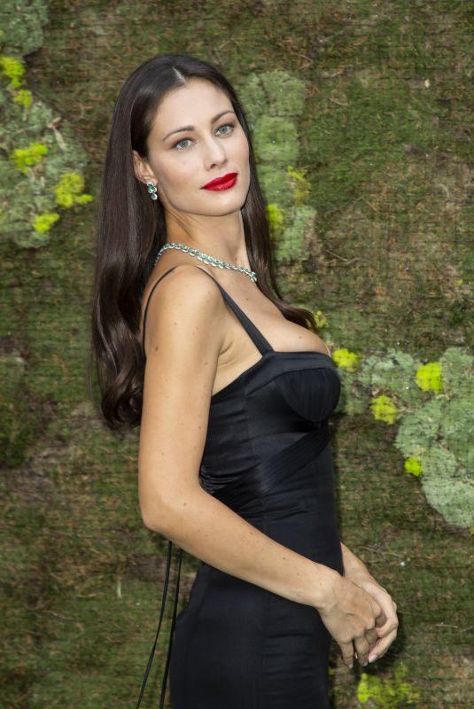 MARICA PELLEGRINELLI at Green Carpet Fashion Awards in Milan 09/23/2018