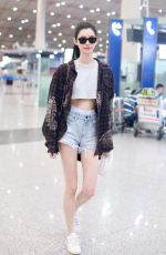 MING XI at Airport in Beijing 09/05/2018
