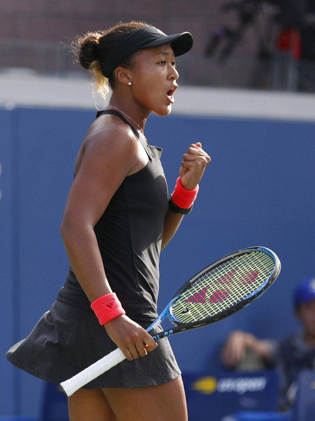 NAOMI OSAKA at 2018 US Open Tennis Tournament in New York ...