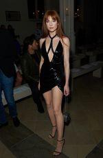 NICOLA ROBERTS at Julien MacDonald Show at London Fashion Week 09/15/2018