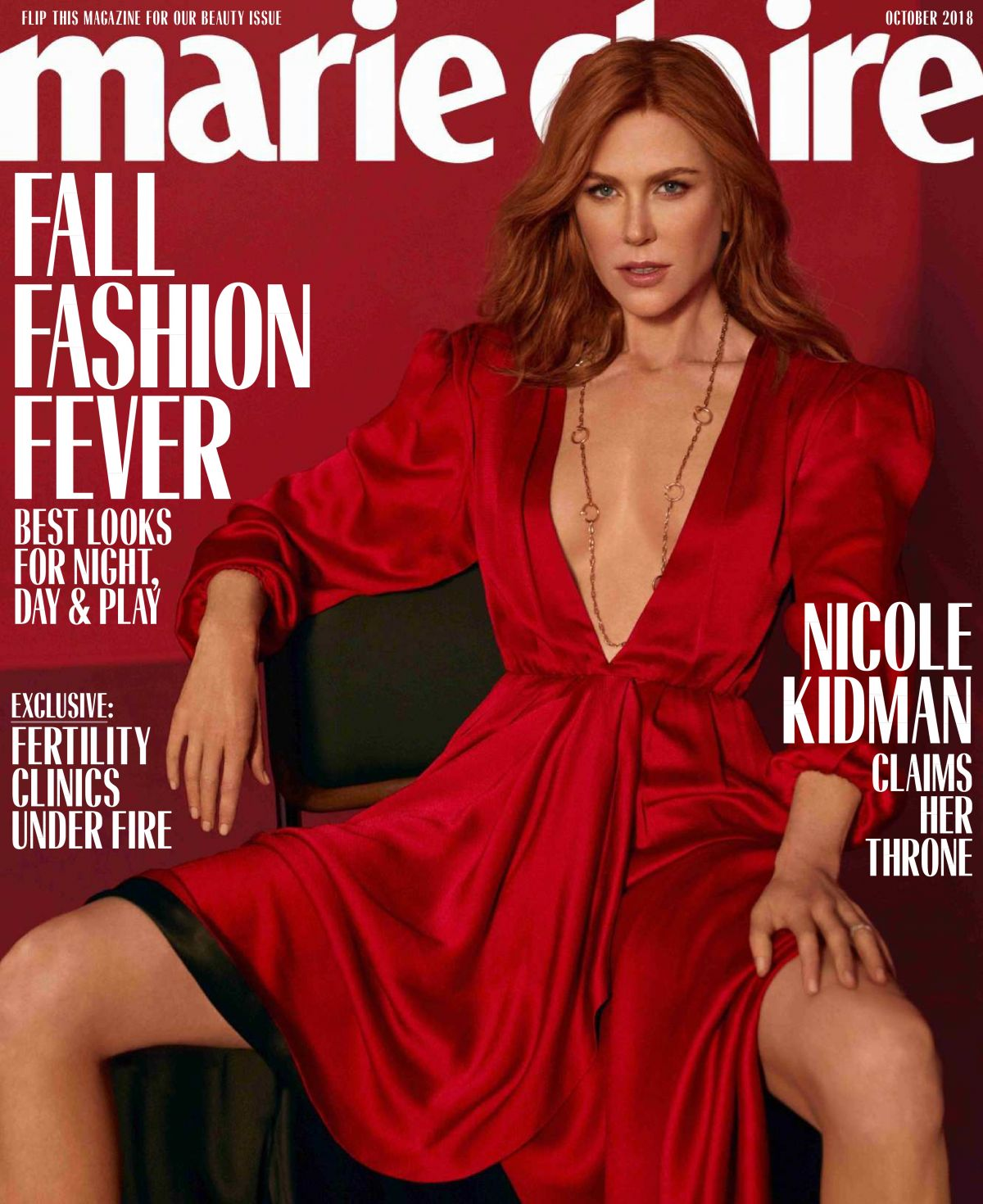 pics Exclusive: Nicole Kidman talks to Marie Claire