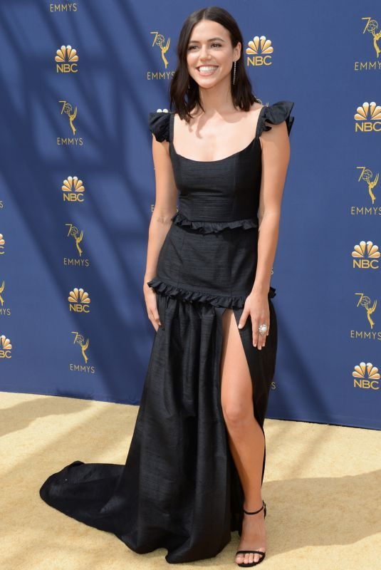 NINA KIRI at Emmy Awards 2018 in Los Angeles 09/17/2018