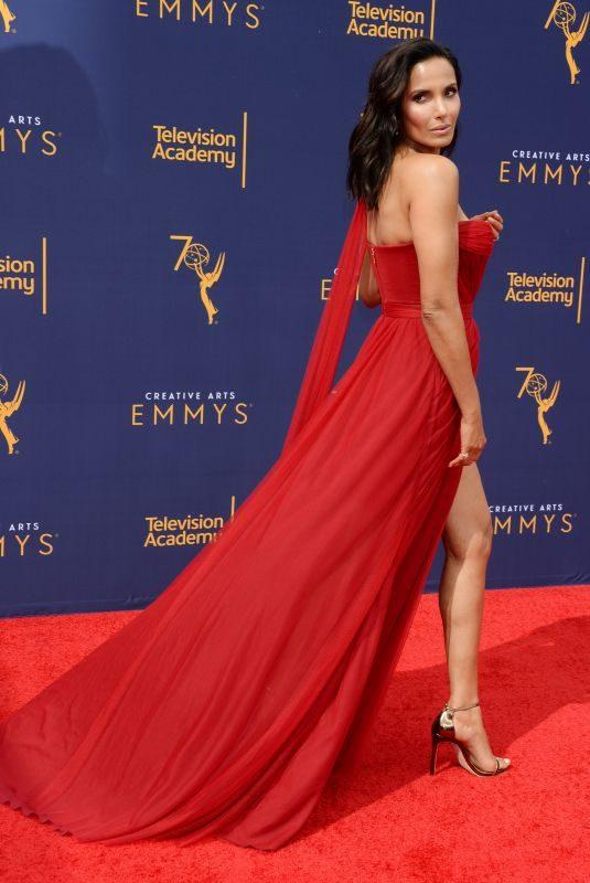 PADMA LAKSHMI at Creative Arts Emmy Awards in Los Angeles 09/08/2018