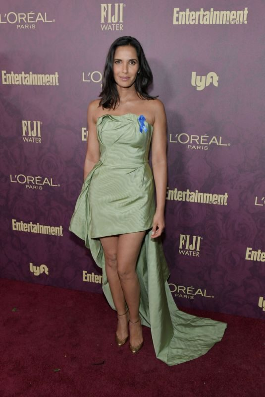 PADMA LAKSHMI at EW and L'Oreal Paris Pre-emmy Party in Hollywood 09/15/2018