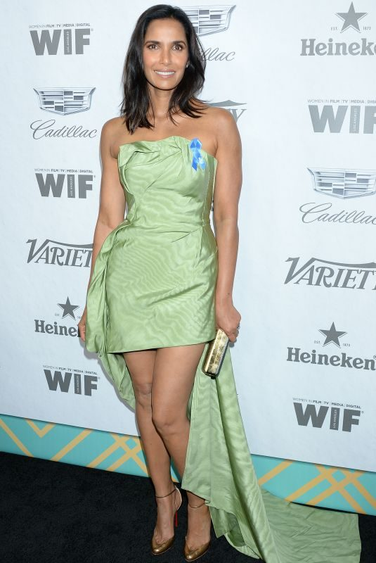 PADMA LAKSHMI at Variety & Women in Film's Pre-emmy Party in Hollywood 09/15/2018