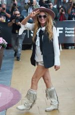 PAULINA RUBIO Out at San Sebastian Film Festival 09/28/2018