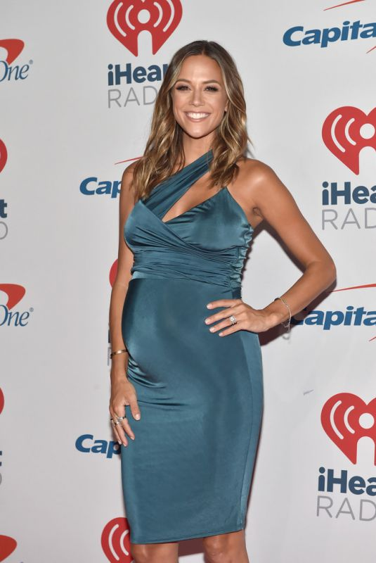 Pregnant JANA KRAMER at Iheartradio Music Festival in Las Vegas 09/21/2018