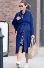 Pregnant PIPPA MIDDLETON Leaves a Gym in London 09/25/2018