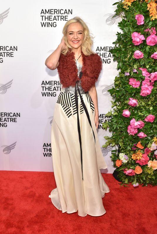 RACHEL BAY JONES at American Theater Wing Gala in New York 09/24/2018