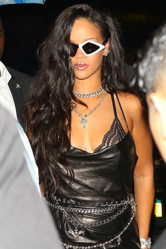 RIHANNA at Savage x Fenty After Party in New York 09/12/2018