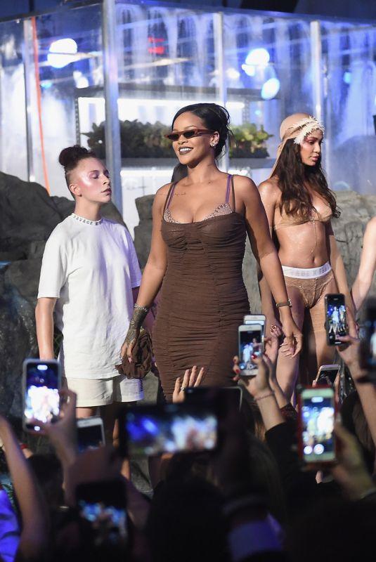 RIHANNA at Savage x Fenty Show at New York Fashion Week 09/12/2018