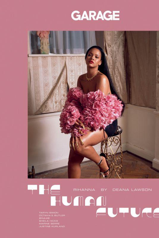 RIHANNA for Garage Magazine, September 2018