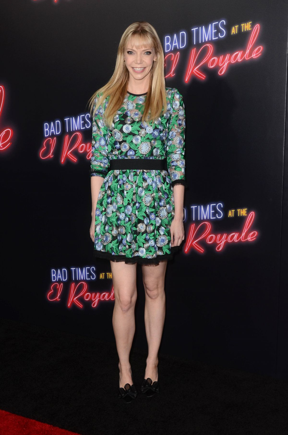 RIKI LINDHOME at Bad Times at the El Royale Premiere in