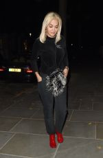 RITA ORA Leaves Cow Pub in Notting Hill 09/06/2018