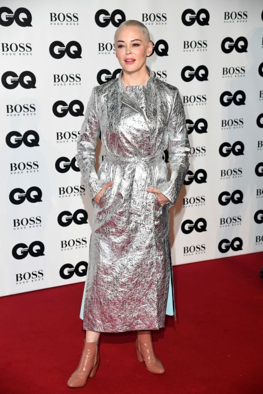 ROSE MCGOWAN at GQ Men of the Year Awards 2018 in London 09/05/2018