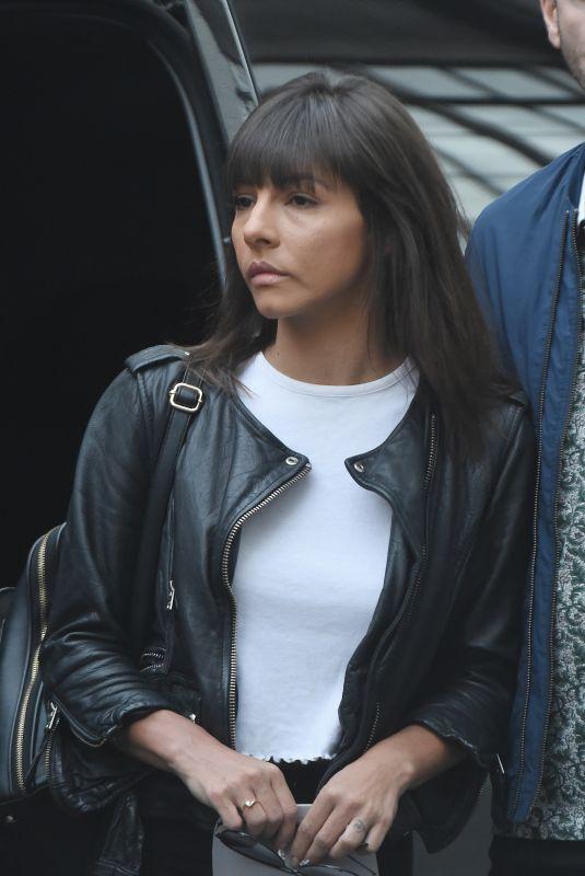 ROXANNE PALLETT Leaves Her Hotel in London 09/03/2018