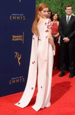 SARAH DREW at Creative Arts Emmy Awards in Los Angeles 09/08/2018
