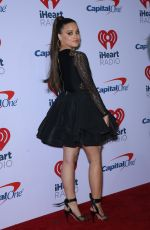SARAH JEFFERY at 2018 Iheart Radio Music Festival in Las Vegas 09/22/2018