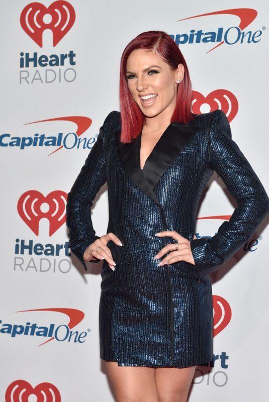SHARNA BURGESS at Iheartradio Music Festival in Las Vegas 09/21/2018