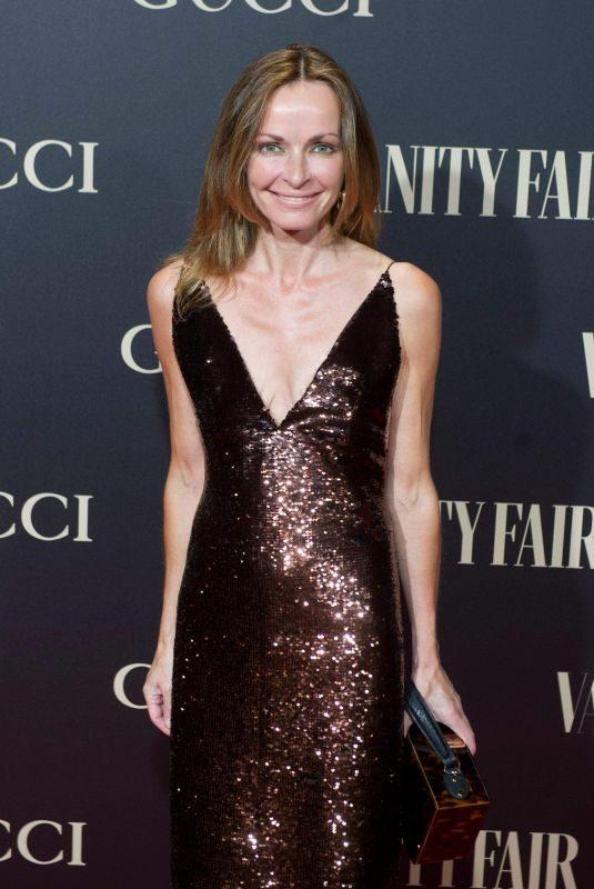 SHARON CORR at Vanity Fair Gala in Madrid 09/26/2018