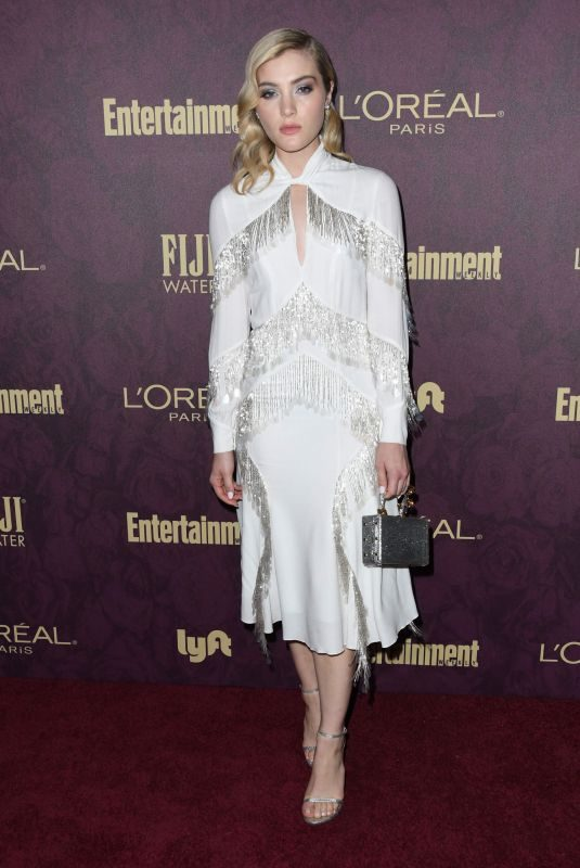 SKYLER SAMUELS at EW and L'Oreal Paris Pre-emmy Party in Hollywood 09/15/2018