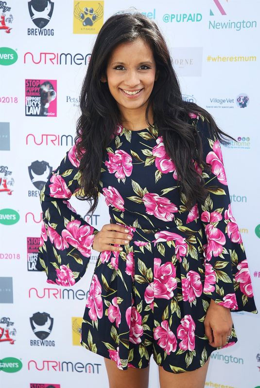 SONALI SHAH at Pup Aid Puppy Farm Awareness Day 2018 in London 09/01/2018