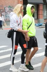 SOPHIE TURNER and Joe Jonas Out in New York 09/20/2018
