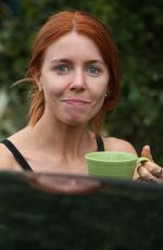 STACEY DOOLEY Leaves Their Hotel in London 09/22/2018