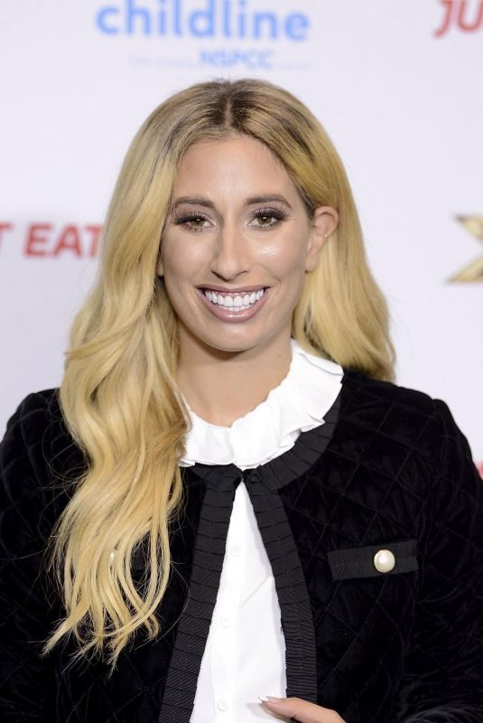 STACEY SOLOMON at Childline Ball in London 09/27/2018