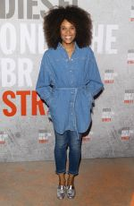 STEFI CELMA at Diesel Fragrance Only the Brave Street Launch Party in Paris 09/06/2018