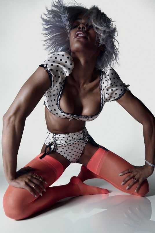 TEYANA TAYLOR for Agent Provocateur 2018 Campaign